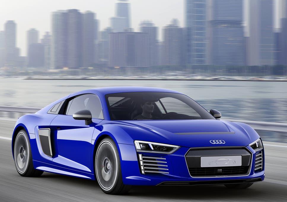 Audi R8 E Tron: Super Fast Electric Concept Sports Car Can Drive Itself