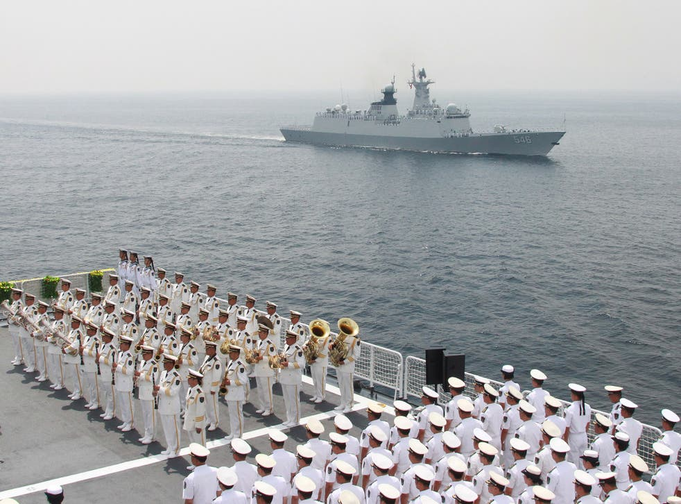 China has been building artificial islands in the disputed South China Sea. File photo