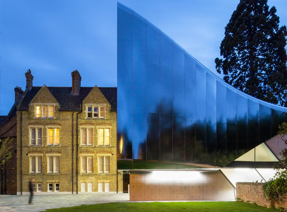 Zaha Hadid's new Daliesque library and archive building at St Antony College, Oxford