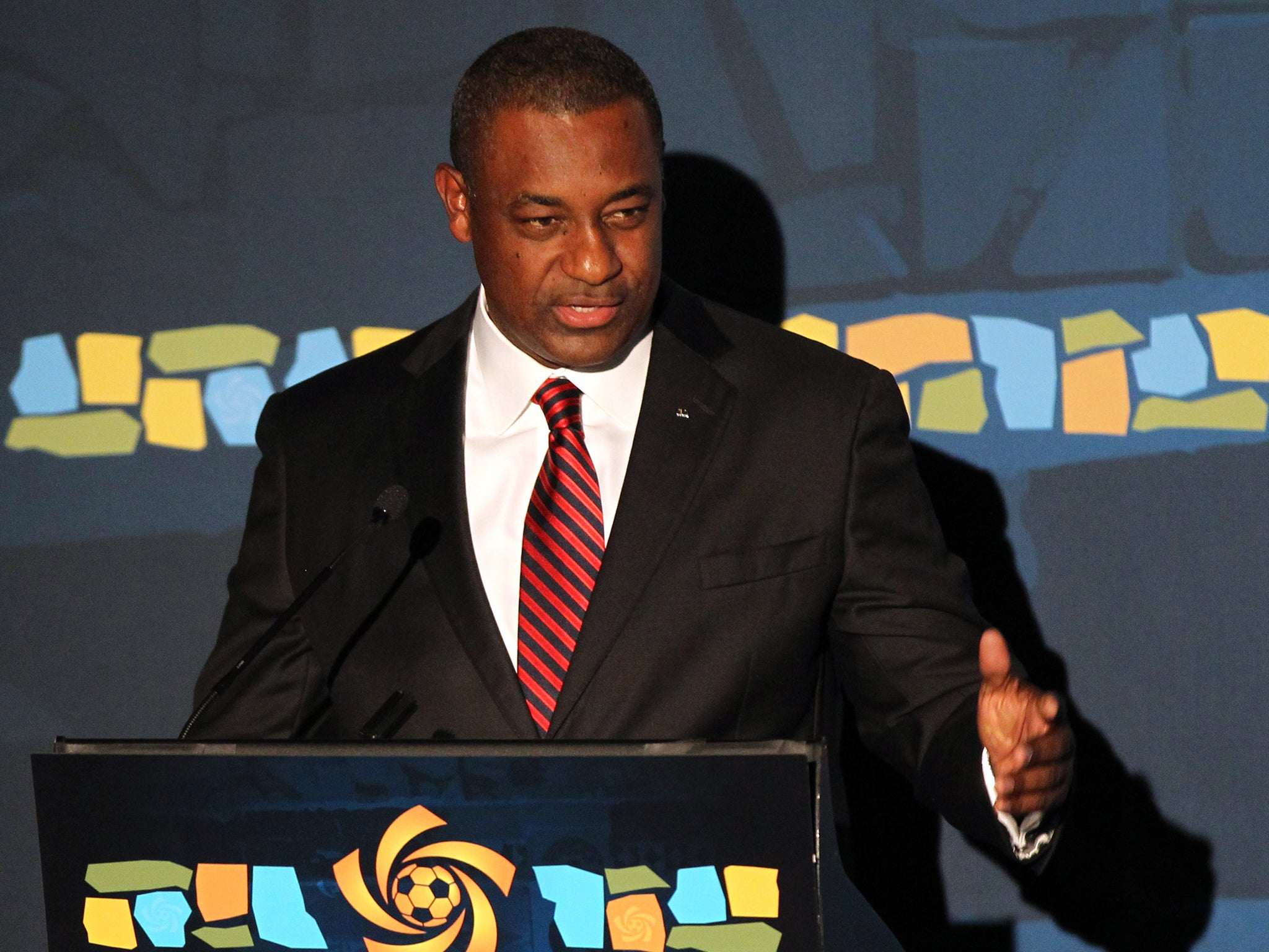 Watch Jeffrey Webb praise Fifa's 'democratic process' hours before being arrested on corruption charges
