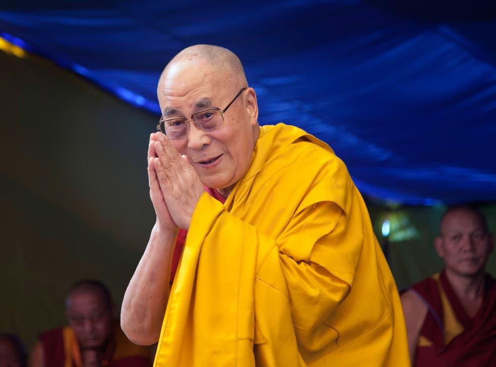 The Dalai Lama's Glastonbury appearance has stirred controversy
