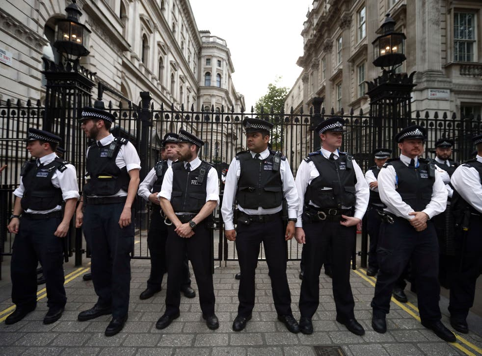 Police officers have said terror attacks and rising crime are putting an 'unsustainable strain' on resources