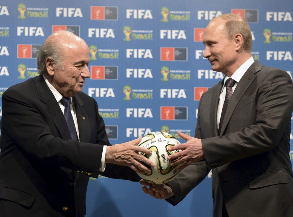 Sepp Blatter and Vladimir Putin. Was Russia awarded the 2018 World Cup unfairly?