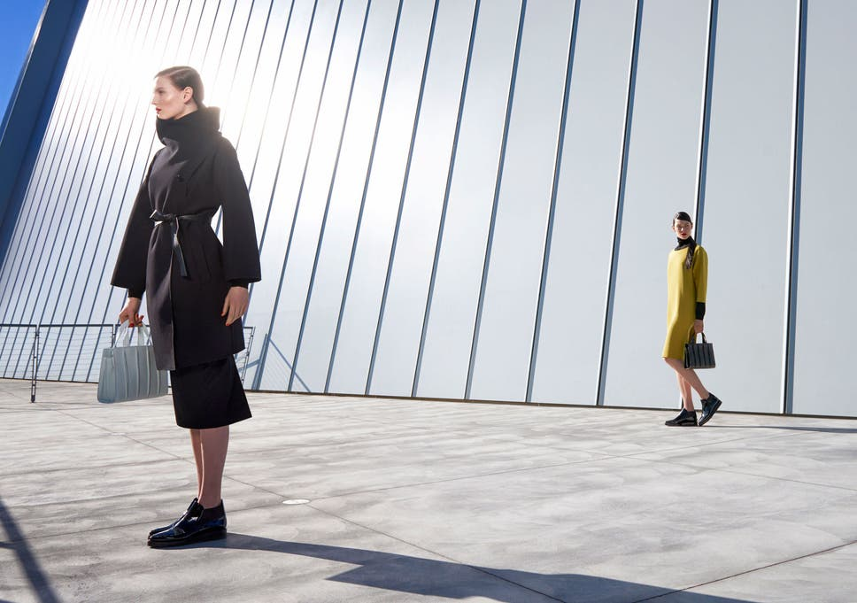 MaxMara s  architectural  clothing  The Italian fashion label has themed a  collection around New York s Whitney Museum c7fec37a52f