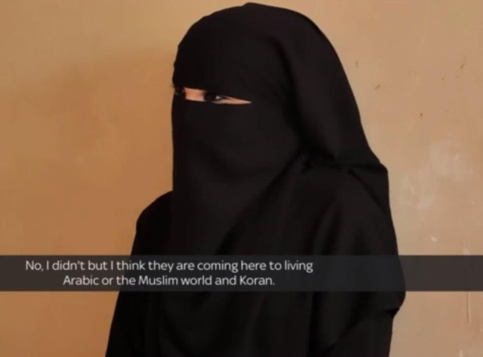 A former Isis commander who called herself Um Asmah