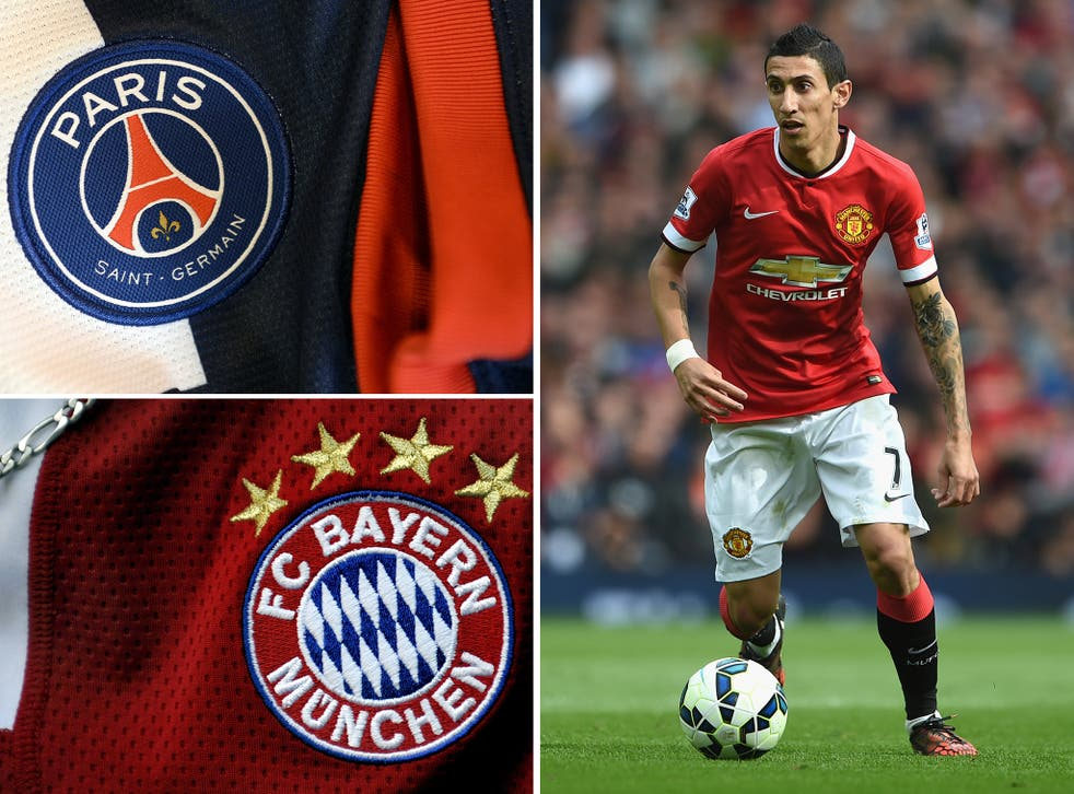 Angel Di Maria is wanted by both PSG and Bayern Munich, according to reports