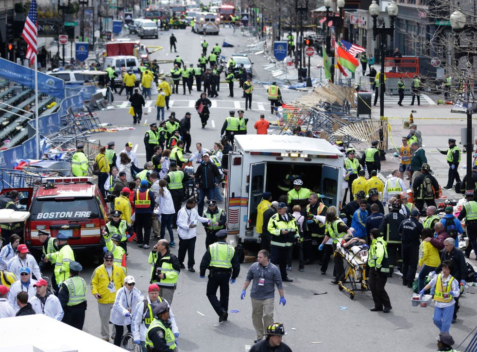 The study assessed the mental health impacts of reporting on the Boston Marathon bombing
