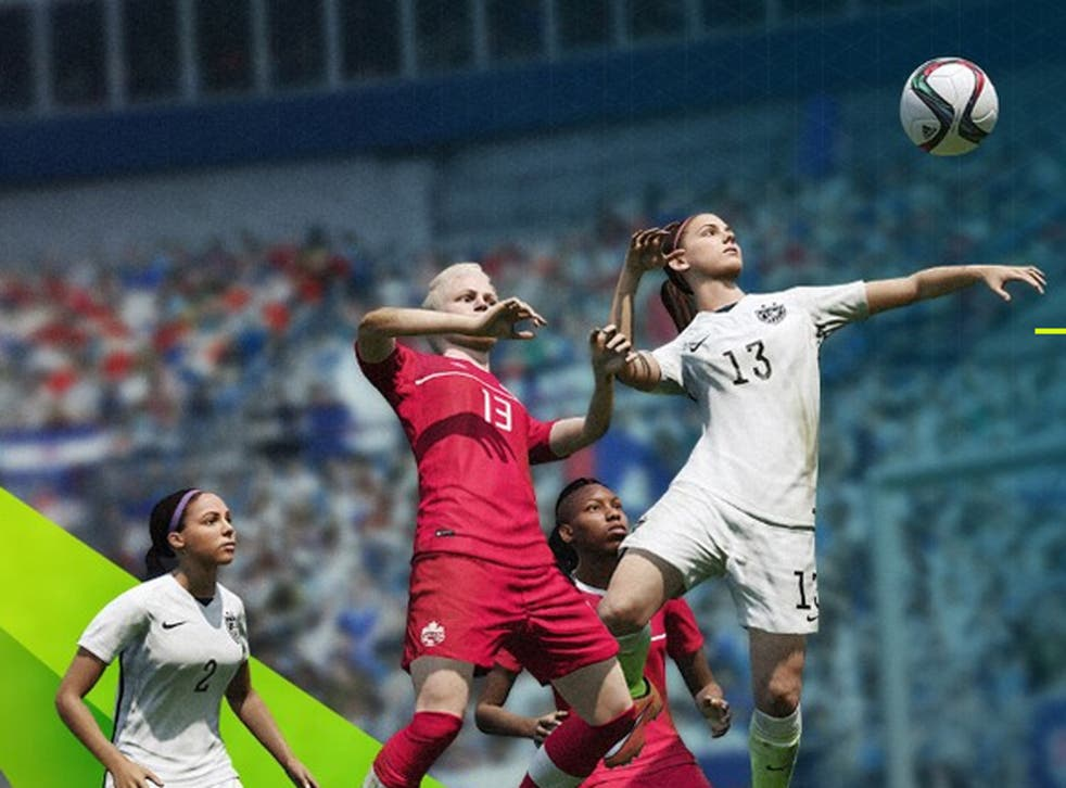 Beyond aesthetics, the movement of female players is different to the men's game on Fifa 16
