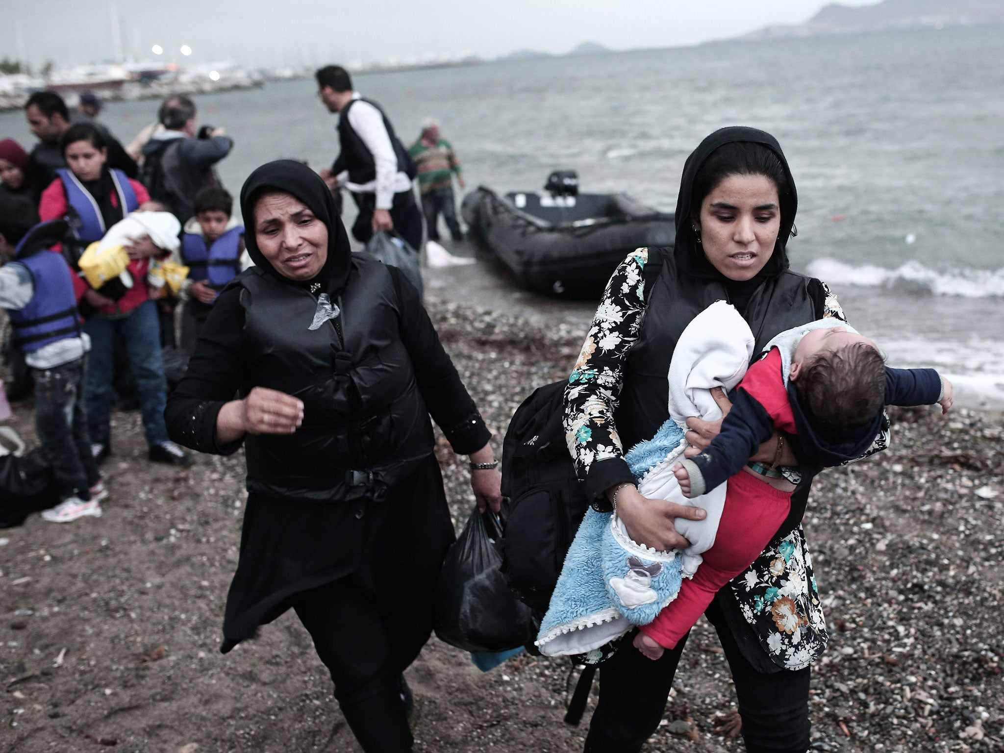 Migrants in Kos: Photos show real tragedy after Brits abroad ...