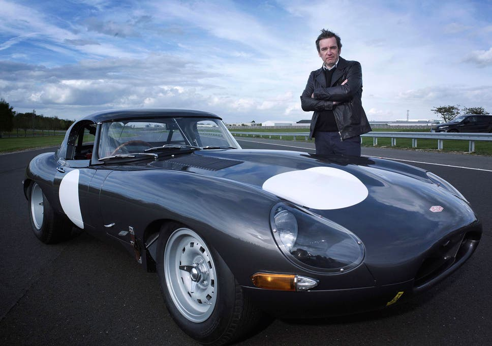 Life In The Fast Lane Mark Evans Presented Inside Jaguar Making A Million
