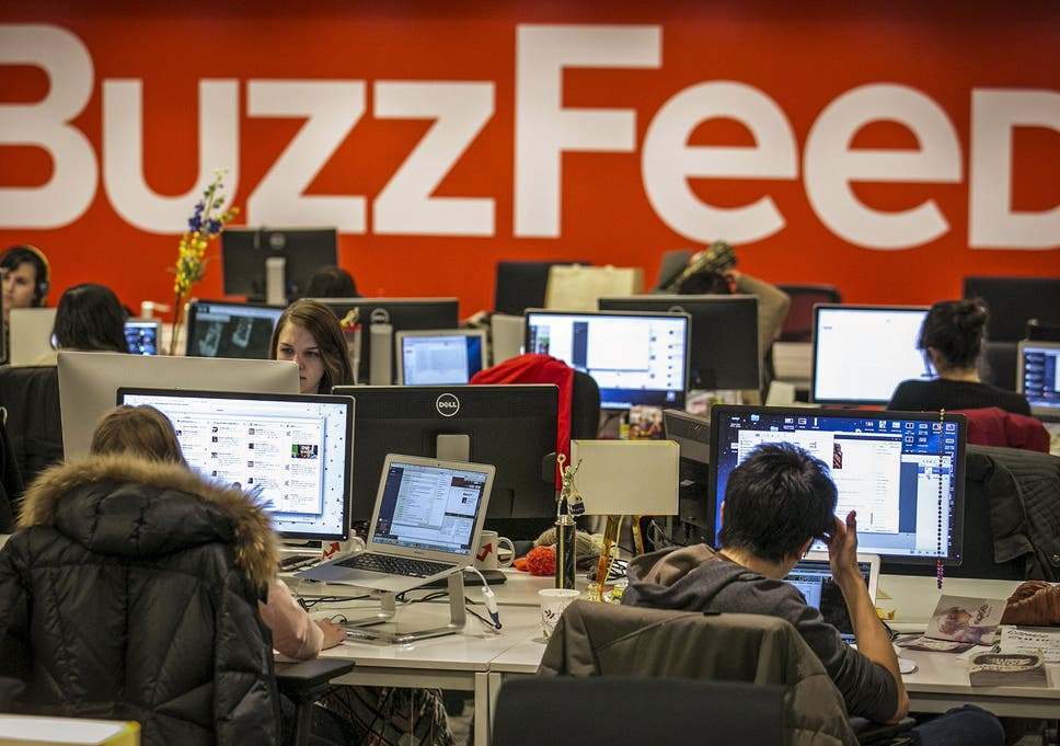 BuzzFeed to lay off 200 staff as millennial media firm