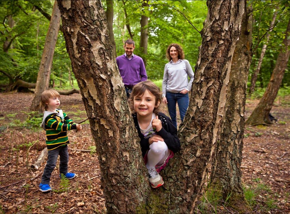 Yasmin with mum Karen, dad Andrew and brother Isaac