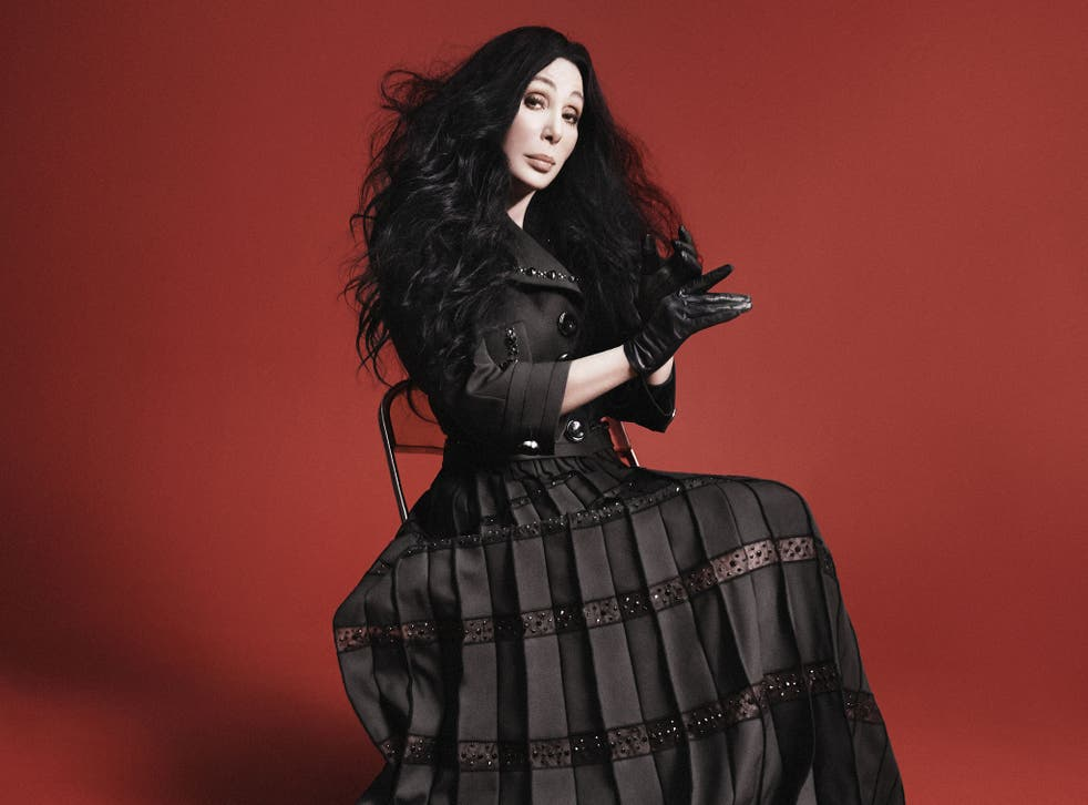 Cher as the new 'face' of Marc Jacobs