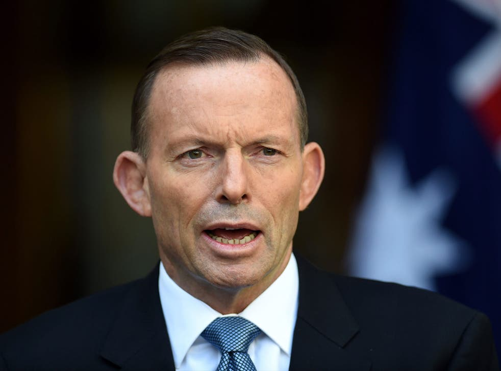 Prime Minister Tony Abbott, a devout Catholic, is against gay marriage but will allow a vote
