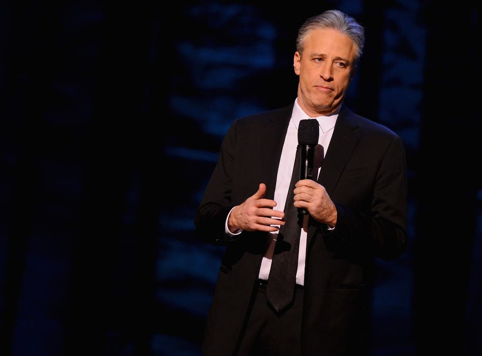 Jon Stewart is a staunch critic of the Iraq war but an advocate of the troops
