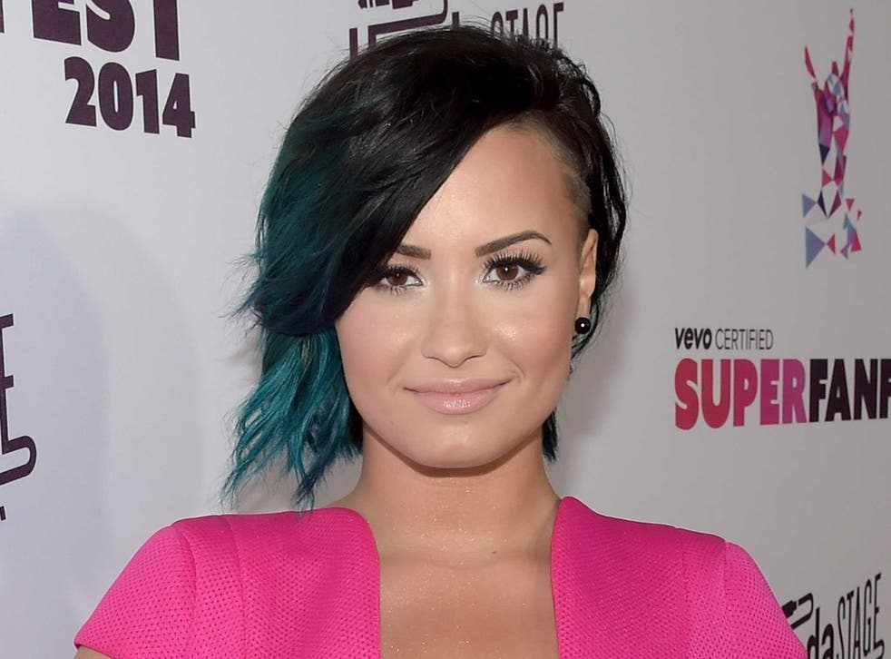 Demi Lovato has spoken of her addiction problems