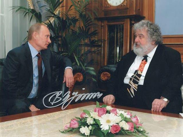 President Putin claimed Blazer looked like Karl Marx