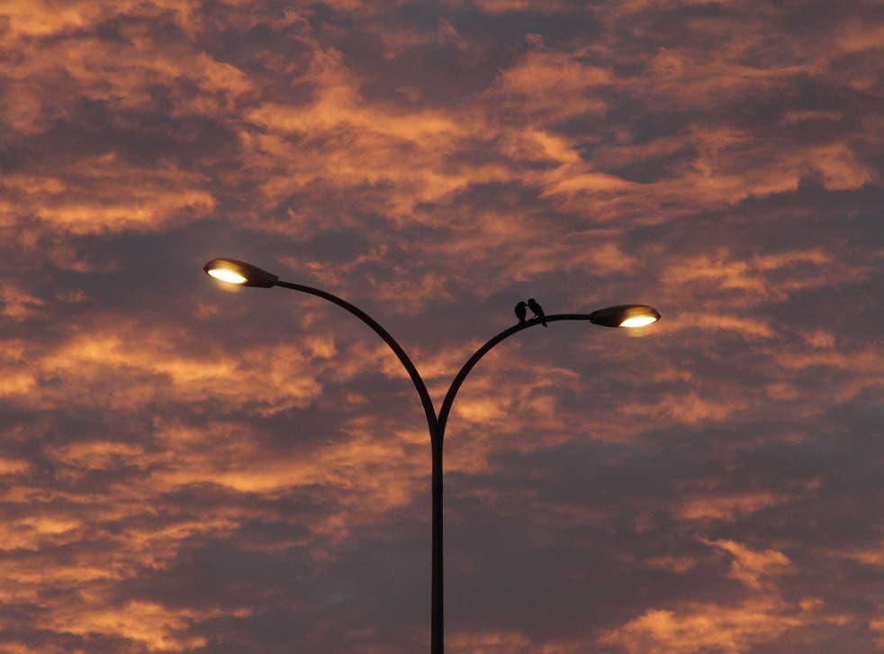 Across the UK street lights are being turned off