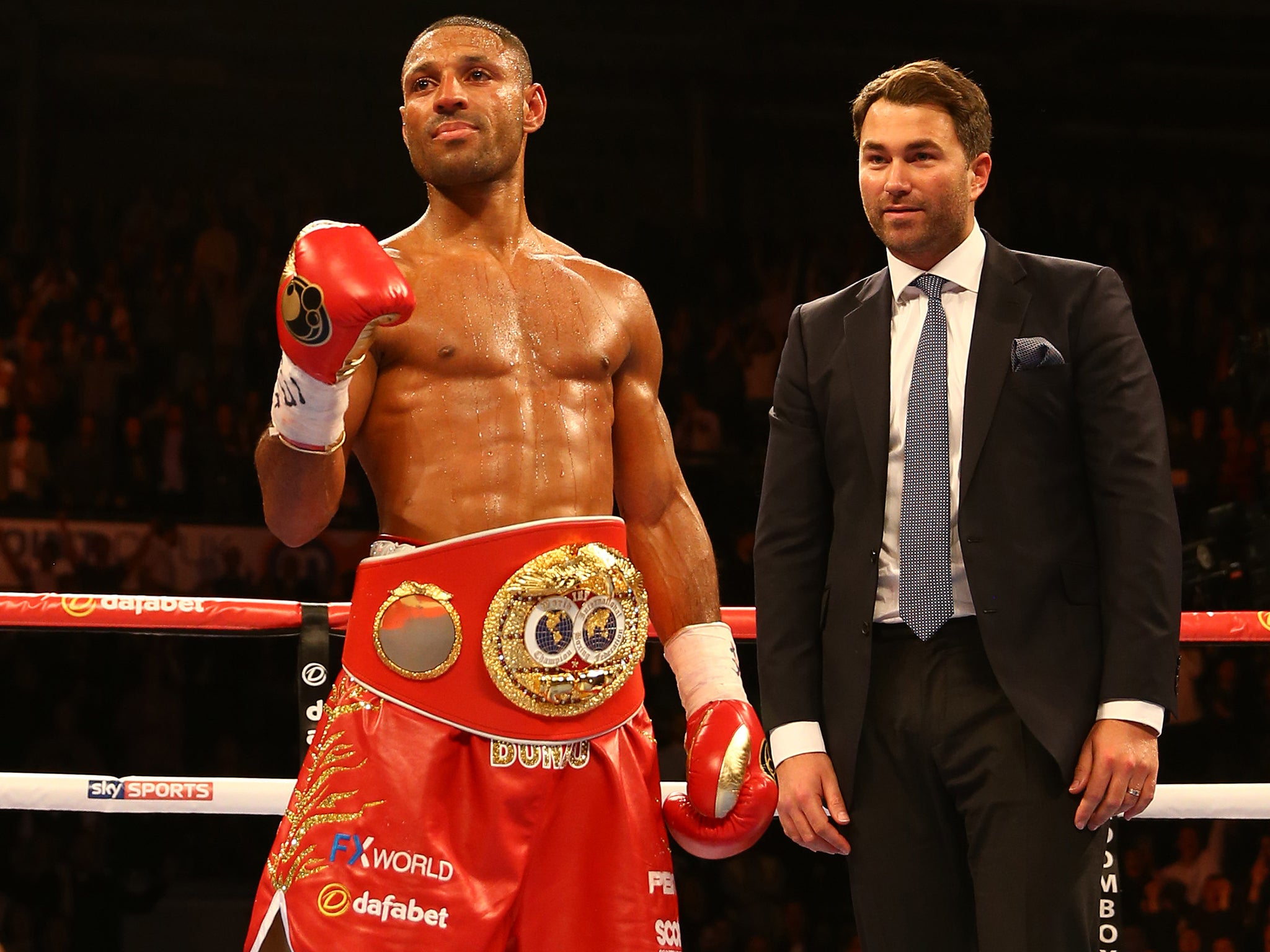 Kell Brook Vs Gennady Golovkin Eddie Hearn Confirms
