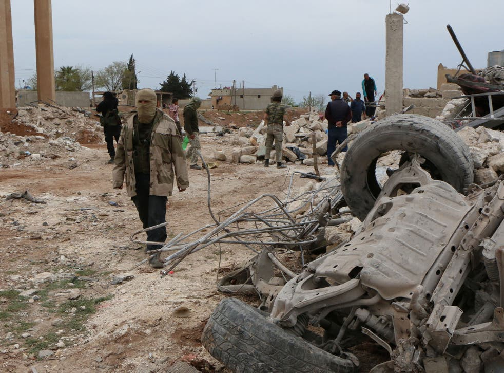 Syria rebel fighters have also counted the cost of fighting Isis militants