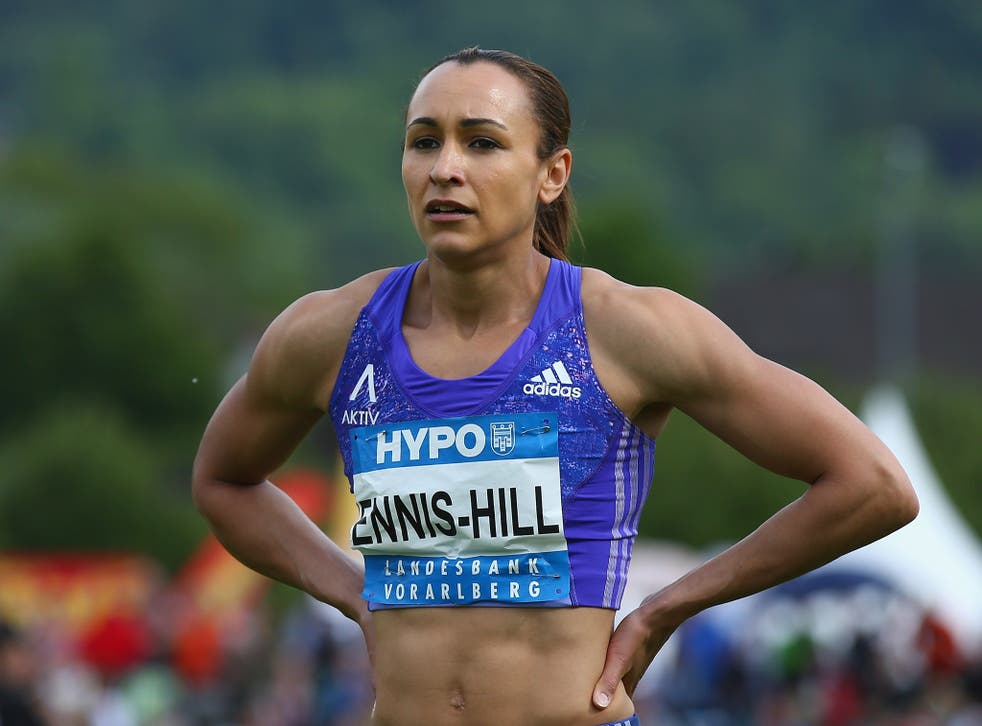 Over the first hurdle: Jessica Ennis-Hill is back into her stride on her heptathlon comeback