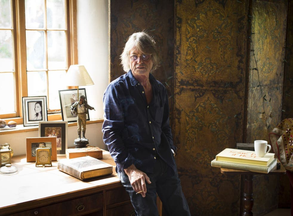 Film director and writer Bruce Robinson