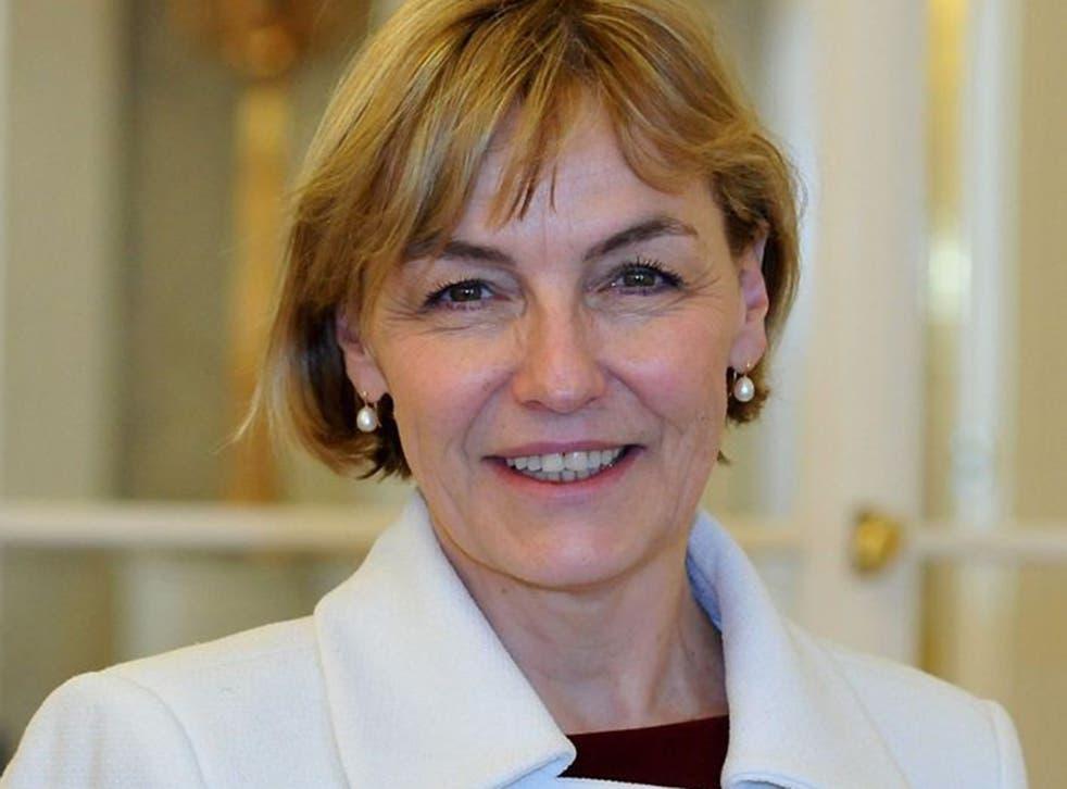 Croatian Foreign Minister Vesna Pusic