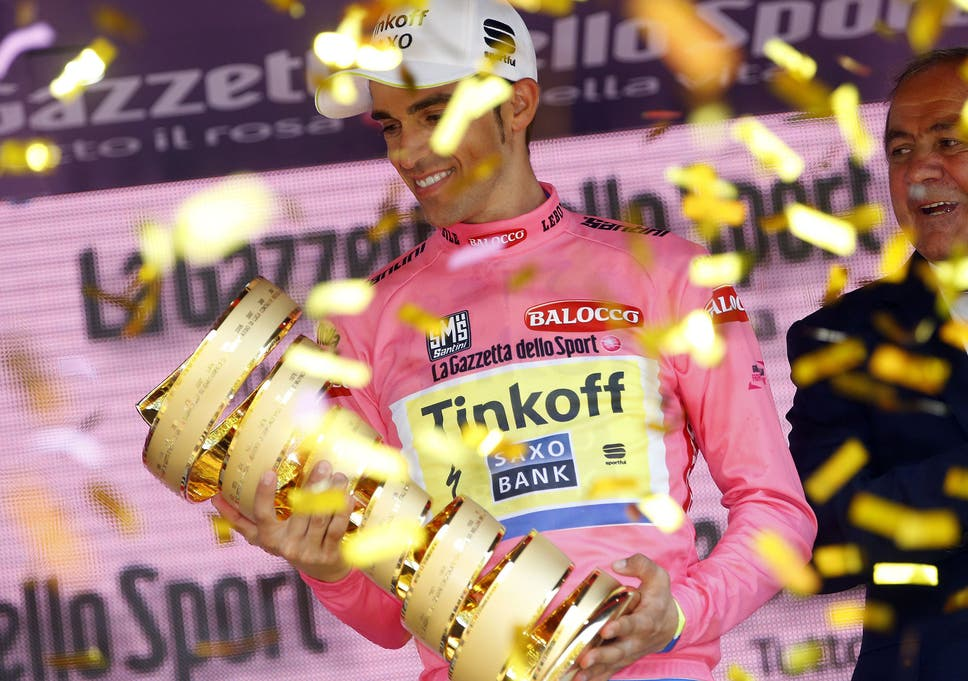 Giro d Italia 2015  Alberto Contador holds on to complete first leg ... 498ad1b00