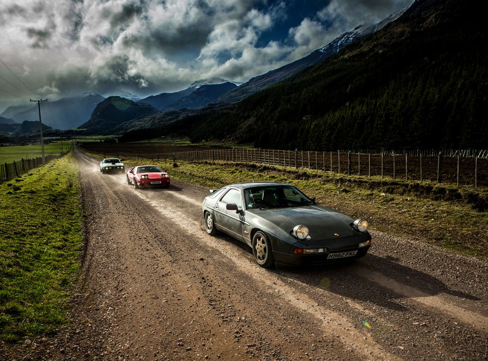 The Porsche whose 'H982 FKL' number plate triggered a diplomatic row with Argentina