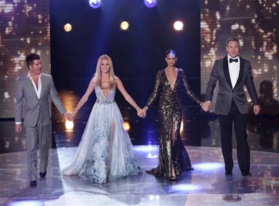 Britain's Got Talent judges: Simon Cowell, Amanda Holden, Alesha Dixon and David Walliams