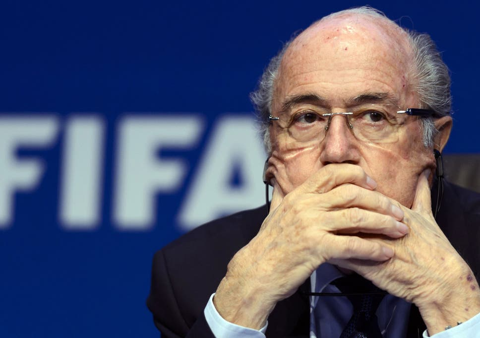 Sepp Blatter Has Resigned As Fifa President