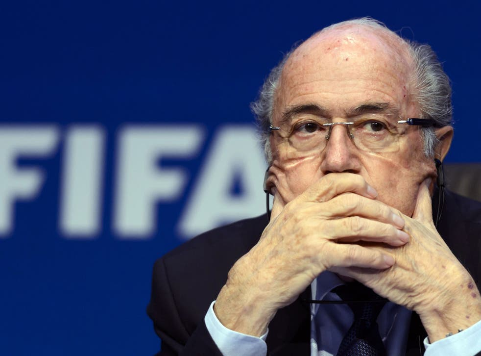 Sepp Blatter was re-elected to another four-year term as Fifa's president last week