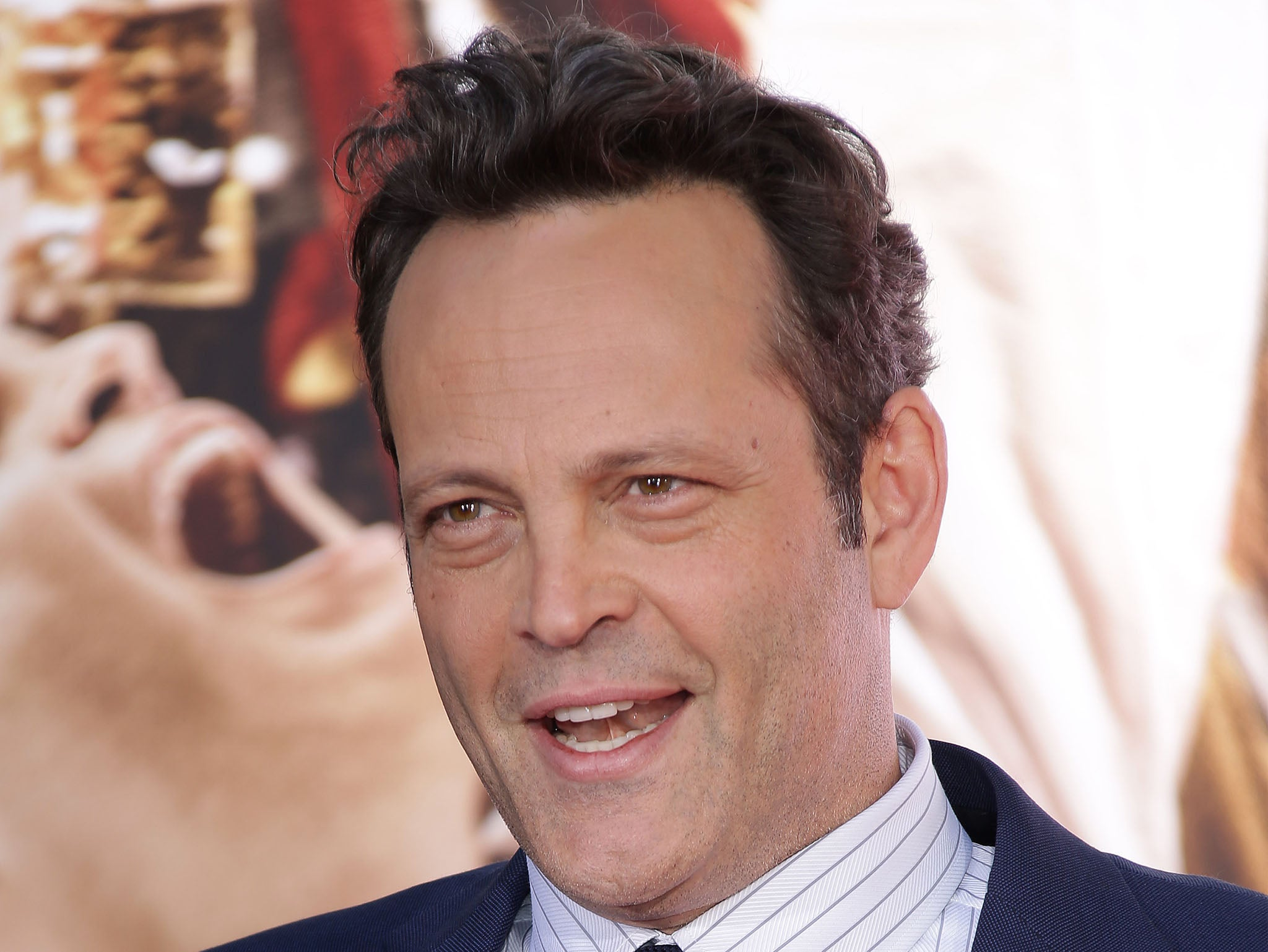 Vince Vaughn insists guns should be allowed in schools, likens banning firearms to boycotting forks to 'stop making people fat'
