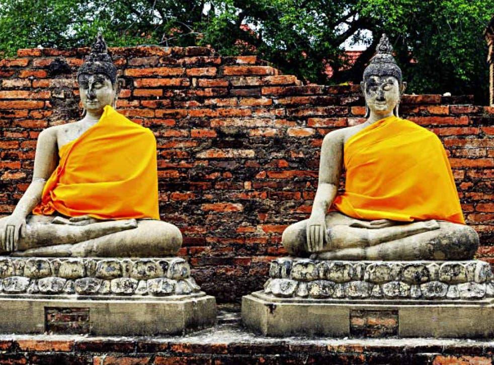 Thai break: Orange brings luck on a Thursday