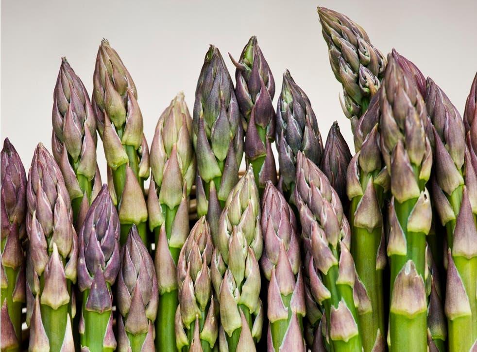 Some asparagus.
