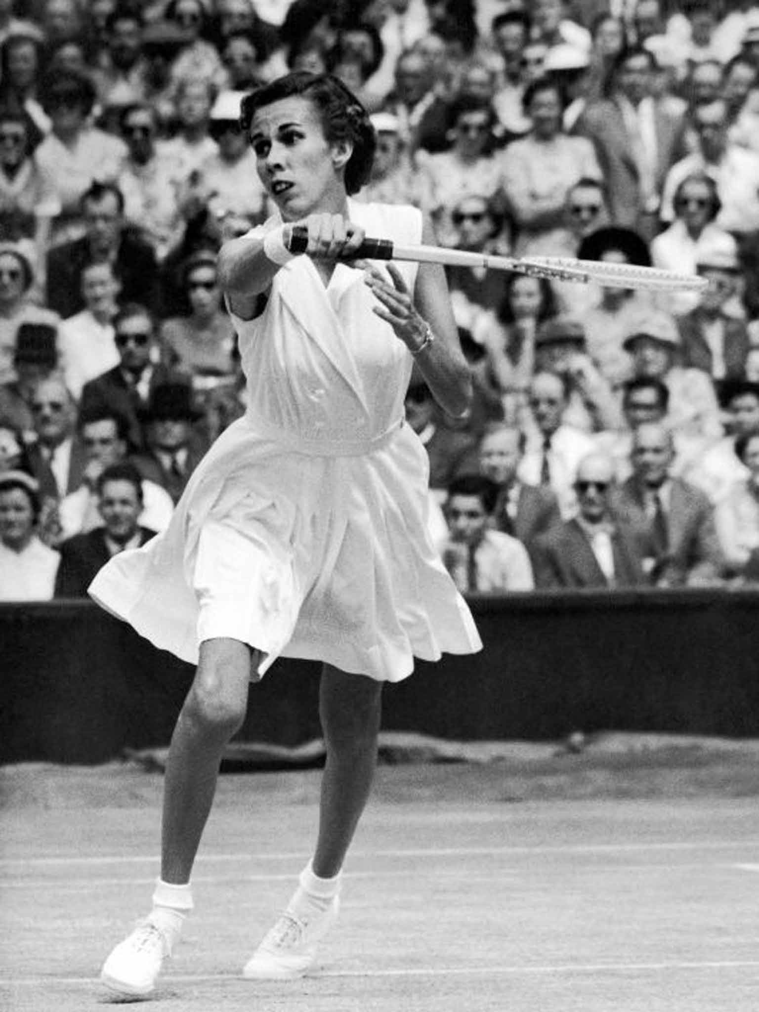 Doris Hart Tennis player who won every available Grand Slam title