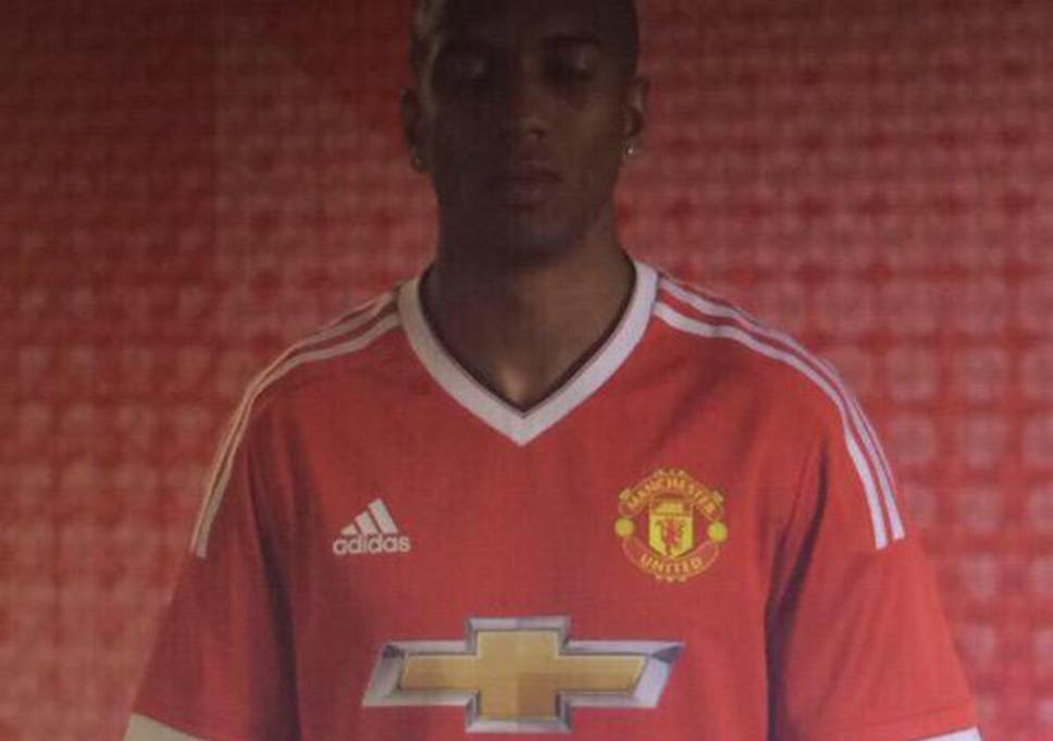 f0555608 Manchester United kit 2015/16: Has Ashley Young just modelled ...