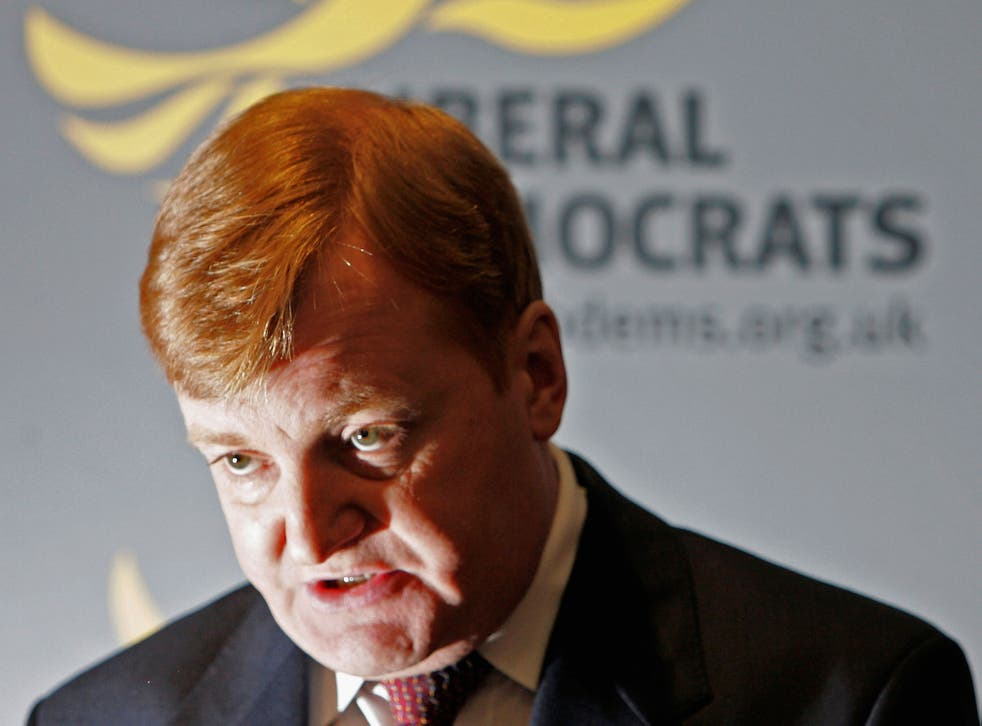 Charles Kennedy admitted his drink problem and called a leadership election in 2006