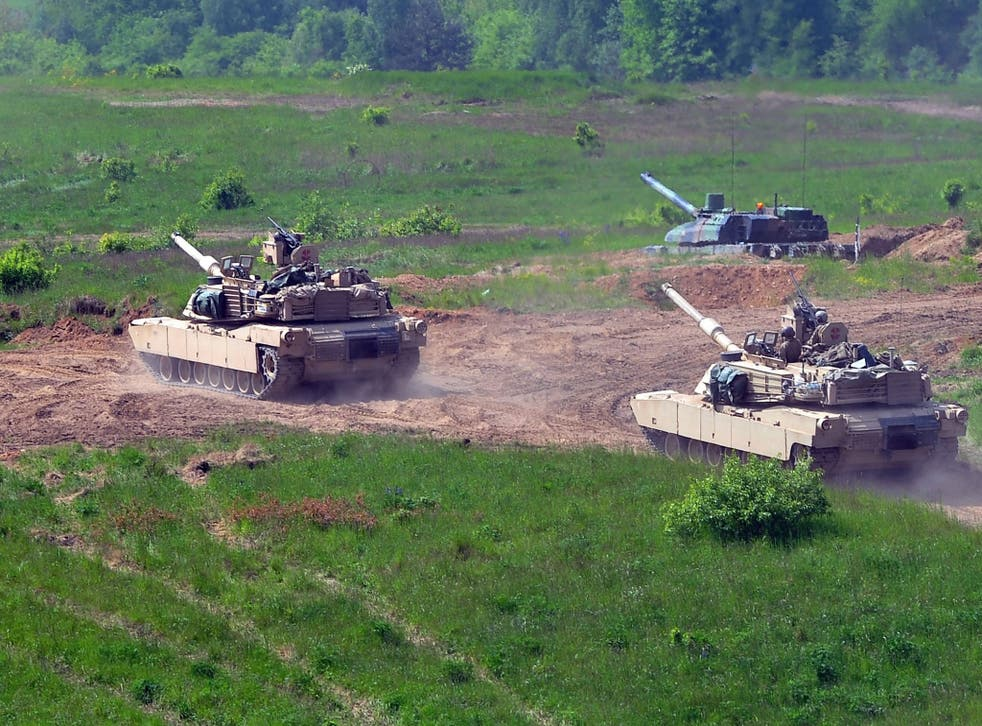 The US has already been conducting large military exercised with Nato ni Europe