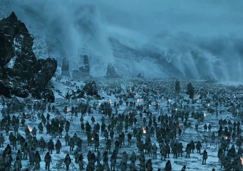 Game Of Thrones Hardhome  Minute Wildlings Versus White Walkers Battle Took A Solid Month To Film