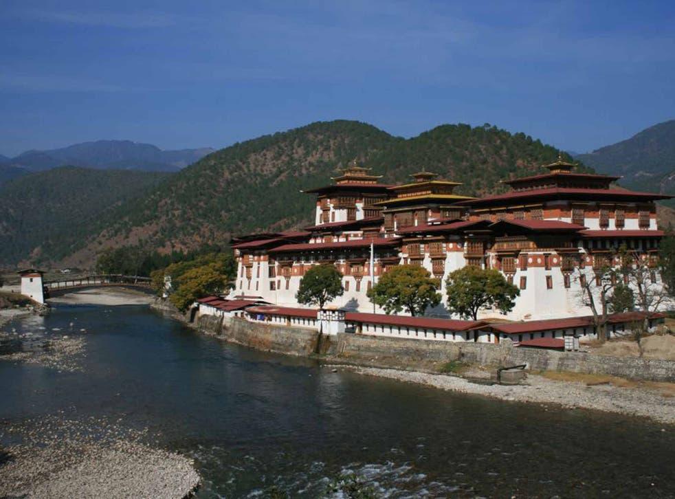 Kingdom and country: Punakha Dzong
