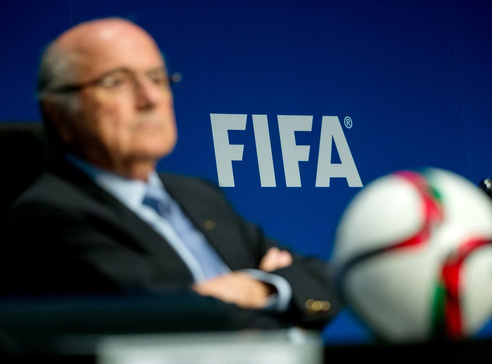 Sepp Blatter, pictured on his re-election as Fifa president