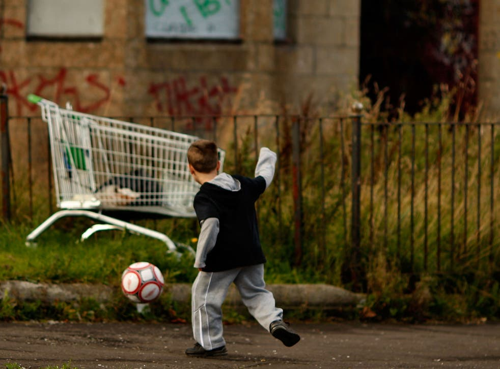 Figures indicate child poverty in Manchester and Birmingham stands at 44 per cent and 43 per cent respectively, while in the London borough of Tower Hamlets this reaches 53 per cent
