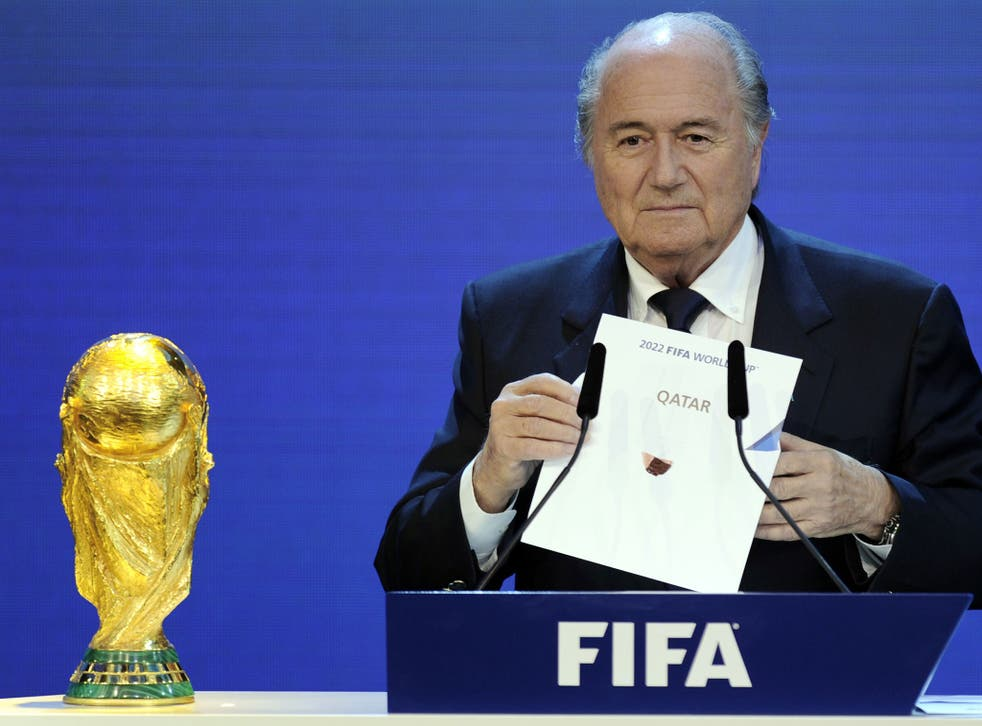 Qatar is awarded the 2022 World Cup finals