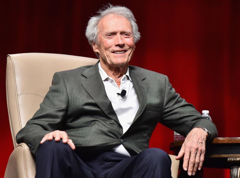 Oscar-winning filmmaker Clint Eastwood