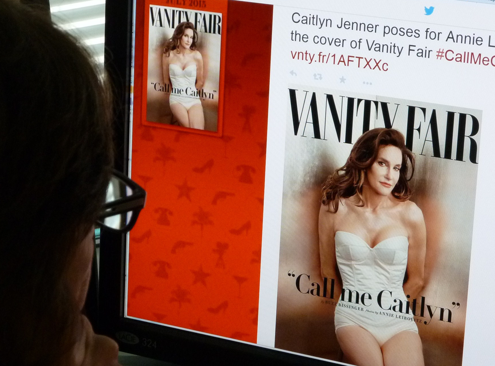 Caitlyn Jenner, the transgender Olympic champion formerly known as Bruce, unveiled her new name on Monday