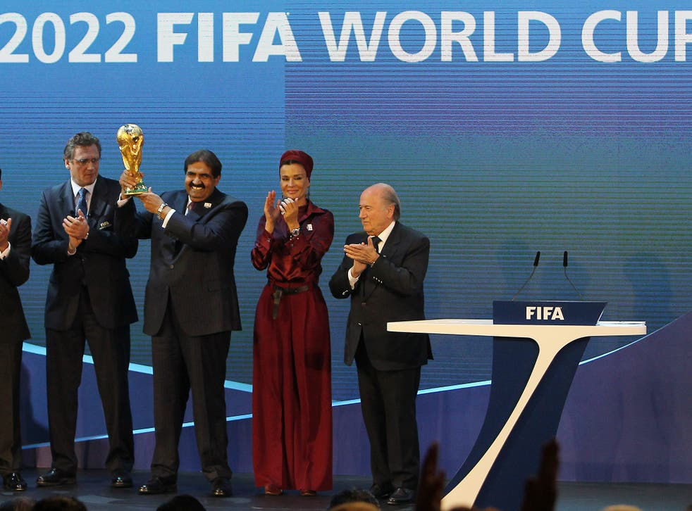Qatar won the right to host the 2022 World Cup in 2010