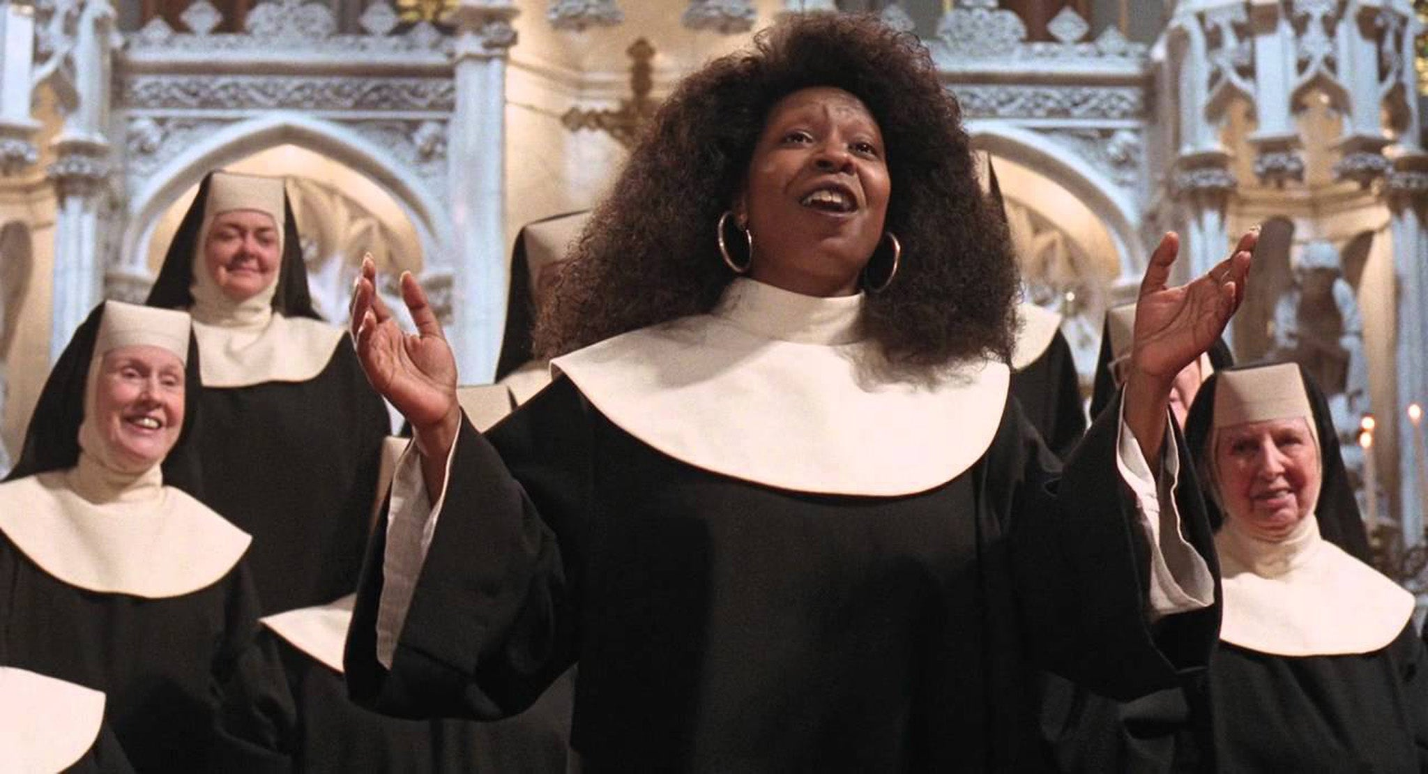 Резултат с изображение за upi goldberg sister act