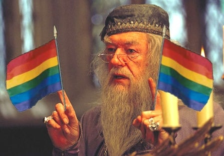 When did rowling first say dumbldeore is gay