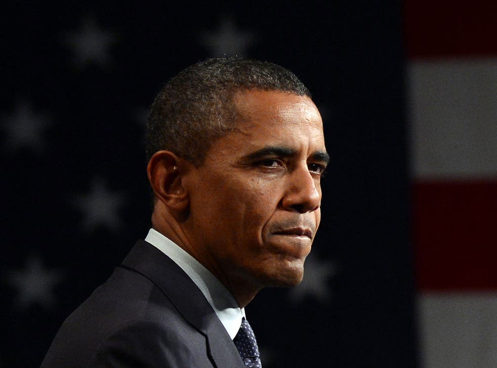 President Obama has not yet commented on the breach